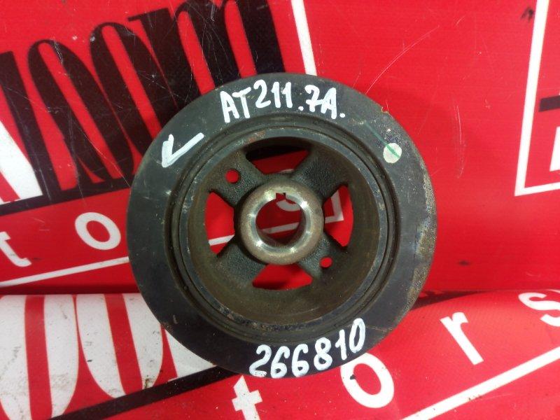 Шкив коленвала Toyota Carina AT211 7A-FE 1998