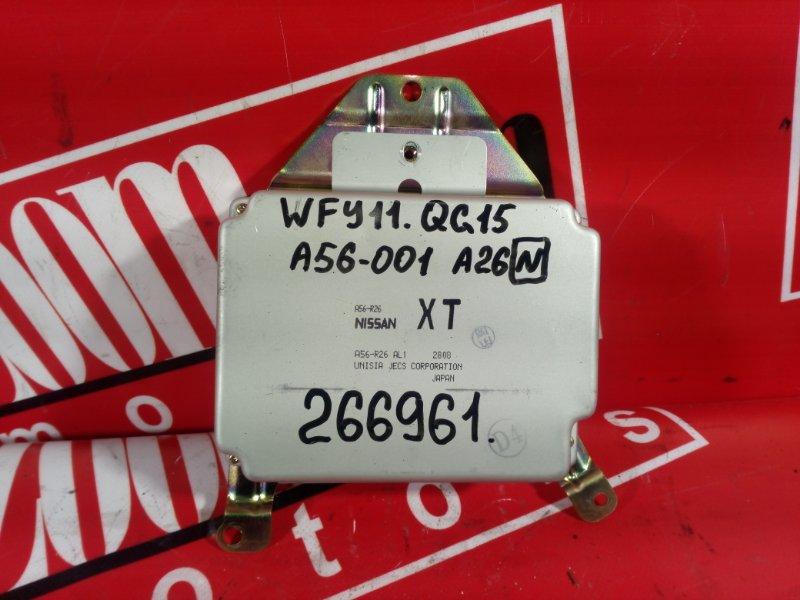 Компьютер (блок управления) Nissan Wingroad WFY11 QG15DE 1999
