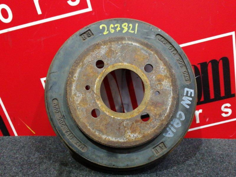 Барабан тормозной Mitsubishi Dingo CQ1A 4G13 2001 задний