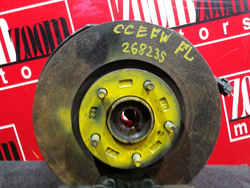 Диск тормозной Mazda Biante CCEFW LF-VD 2008 передний