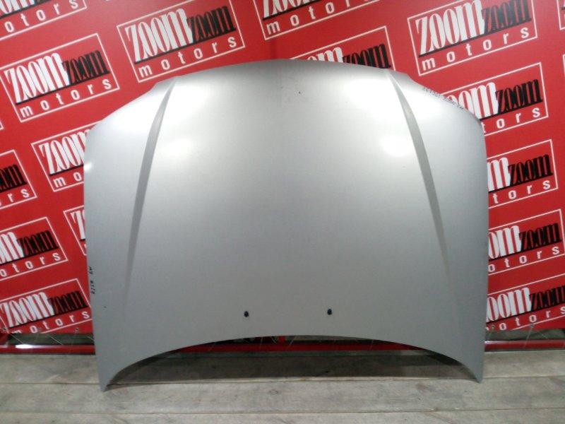 Капот Mazda Familia BJ5W ZL-DE 2000 передний серебро