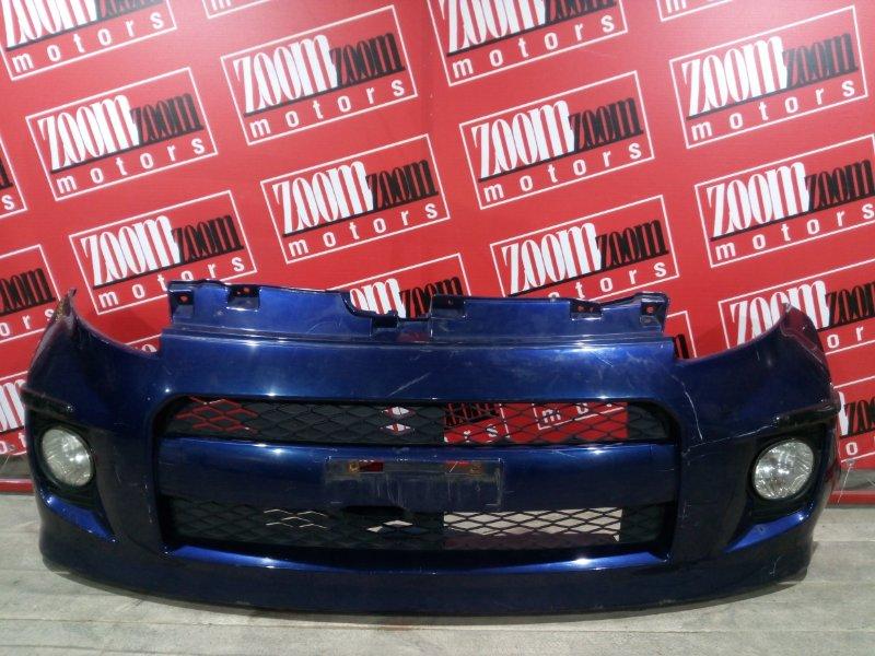 Бампер Toyota Passo KGC10 1KR-FE 2004 передний синий