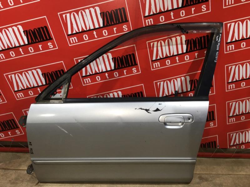 Дверь боковая Mazda Familia BJ5W ZL-DE 1998 передняя левая серебро