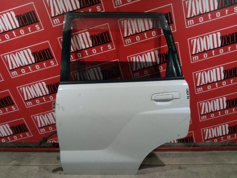 Дверь боковая Mitsubishi Dingo CQ1A 4G15 2001 задняя левая белый перламутр