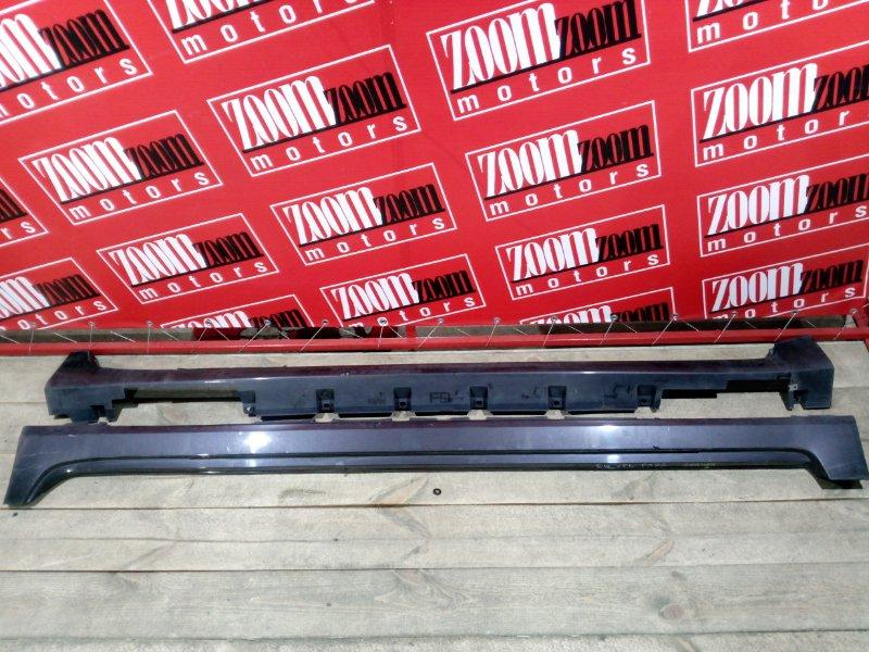 Порог Nissan Teana J32 VQ25DE 2008 баклажан