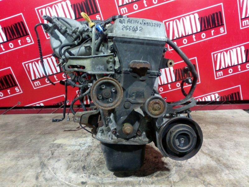 Двигатель Toyota Sprinter Carib AE114 4A-FE 1998 H933297