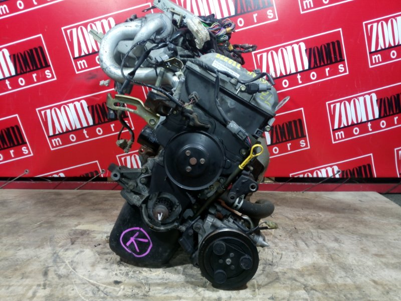 Двигатель Mazda Familia BJ5W ZL-DE 2000 291360