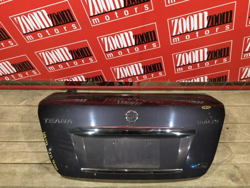 Крышка багажника Nissan Teana J32 VQ25DE 2008 задняя баклажан