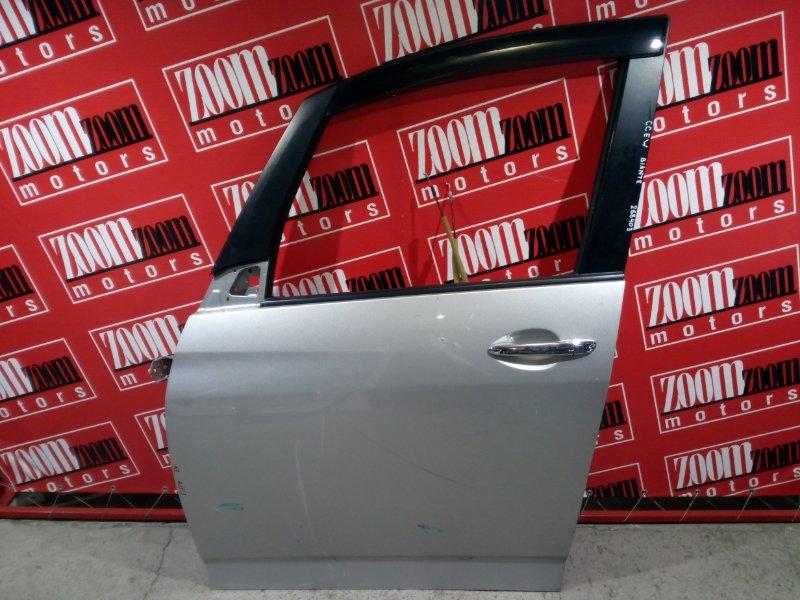 Дверь боковая Mazda Biante CCEFW LF-VD 2008 передняя левая серебро