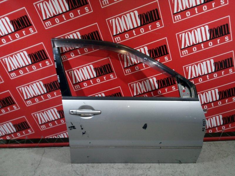 Дверь боковая Mitsubishi Lancer Cedia CS2A 4G15 2000 передняя правая серебро
