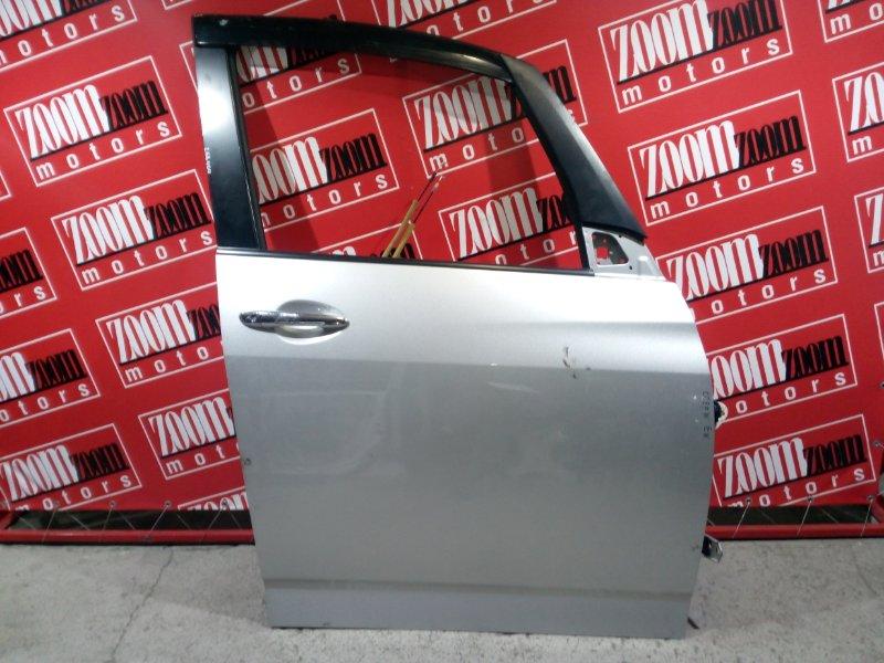 Дверь боковая Mazda Biante CCEFW LF-VD 2008 передняя правая серебро