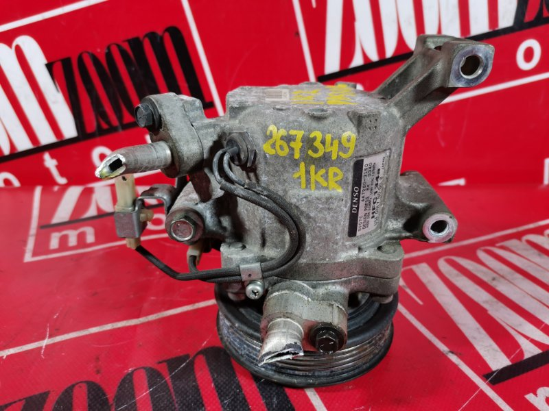 Компрессор кондиционера Toyota Passo KGC30 1KR-FE 2010