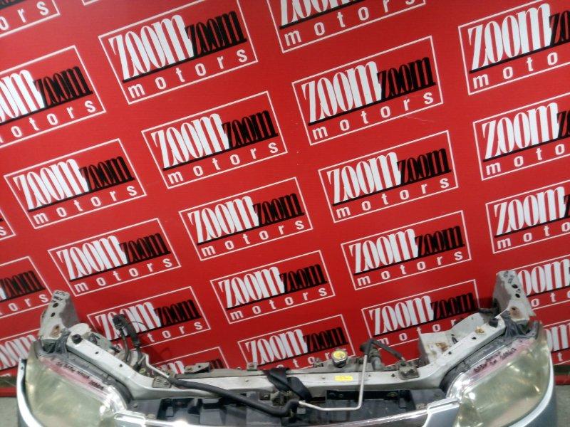 Рамка радиатора Mazda Familia BJ5W ZL-DE 2000 передняя серебро