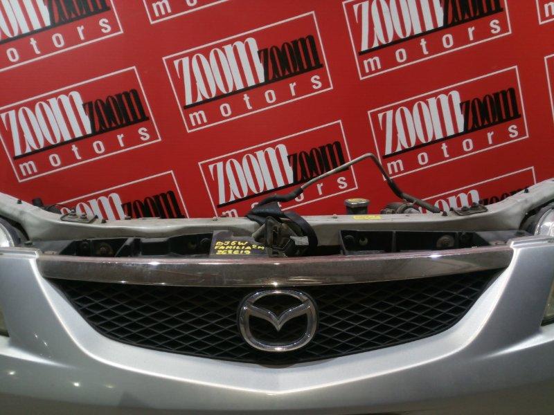 Решетка радиатора Mazda Familia BJ5W ZL-DE 2000 передняя