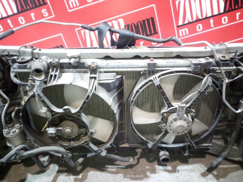 Радиатор двигателя Mazda Familia BJ5W ZL-DE 2000 передний