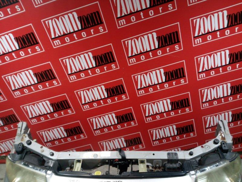 Рамка радиатора Mitsubishi Dingo CQ1A 4G15 2001 передняя серебро