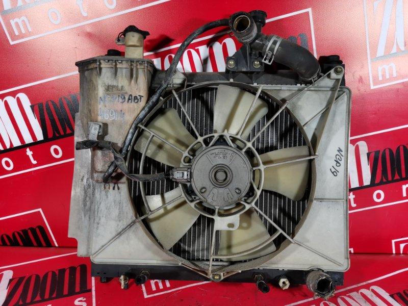 Радиатор двигателя Toyota Will Vi NCP19 1NZ-FE 2000
