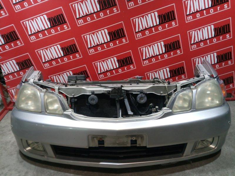 Бампер Toyota Gaia SXM15 3S-FE 2001 передний серебро