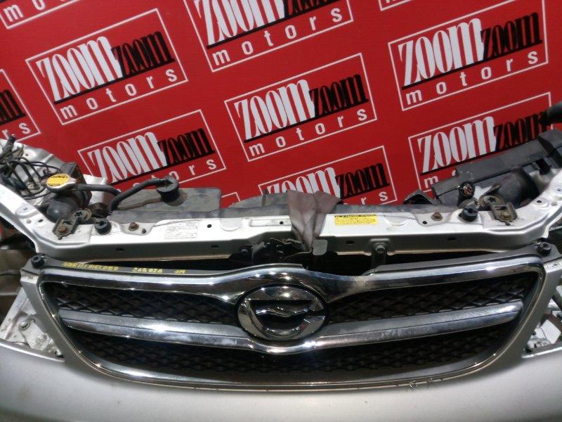 Решетка радиатора Toyota Corolla Fielder NZE121 1NZ-FE `2000 передняя хром