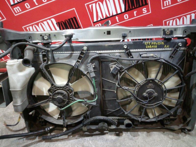 Радиатор двигателя Honda Airwave GJ1 L15A 2005 передний