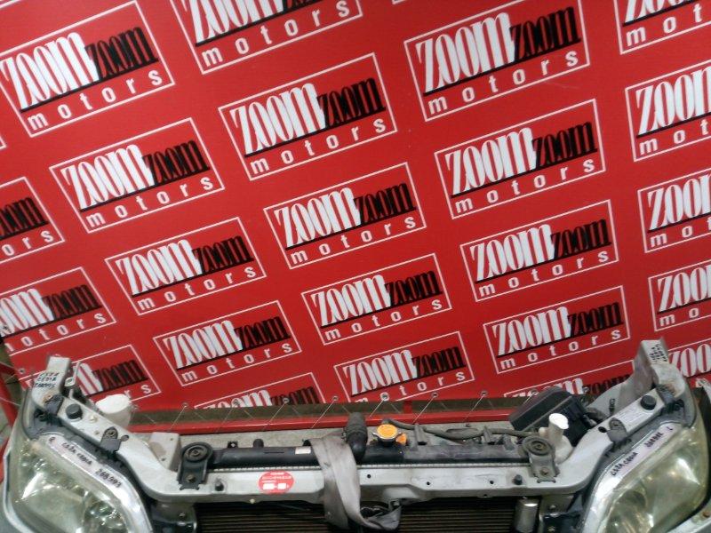 Рамка радиатора Mitsubishi Lancer Cedia CS2A 4G15 2000 передняя серебро