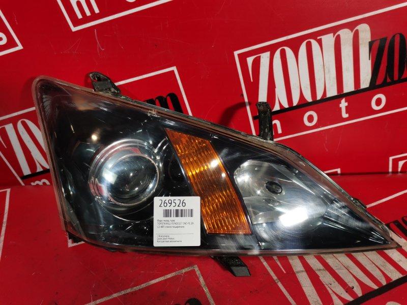 Фара Toyota Will Vs NZE127 1NZ-FE 2001 передняя правая 12-483