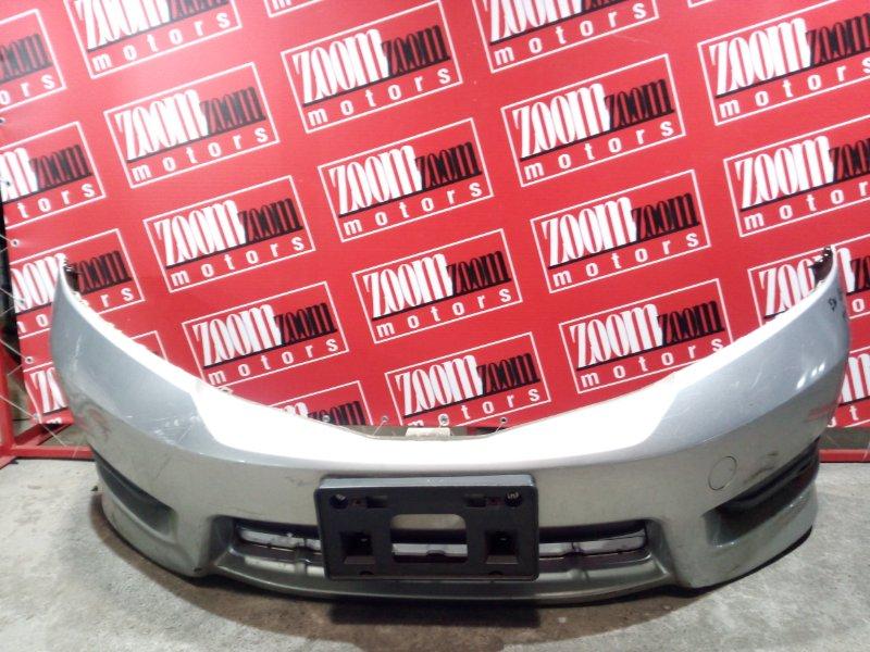 Бампер Honda Fit Shuttle GG7 L15A 2011 передний серебро