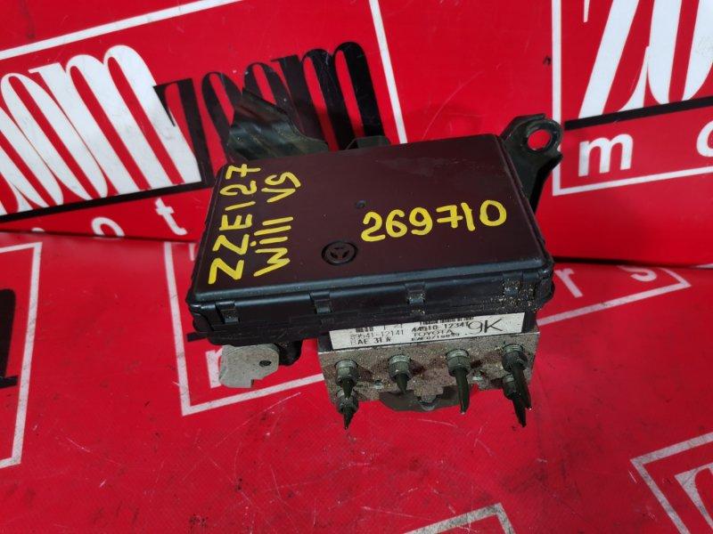 Блок abs (модулятор abs) Toyota Will Vs ZZE127 1ZZ-FE 2001 445100-12341