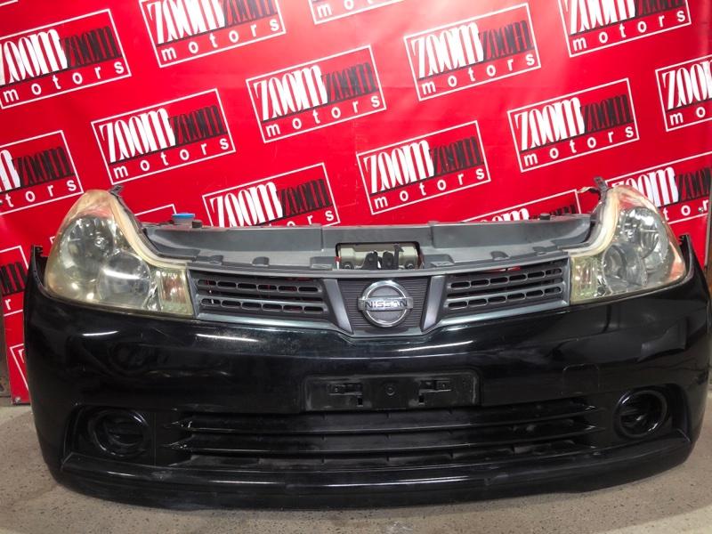 Nose cut Nissan Wingroad JY12 MR18DE 2005 черный