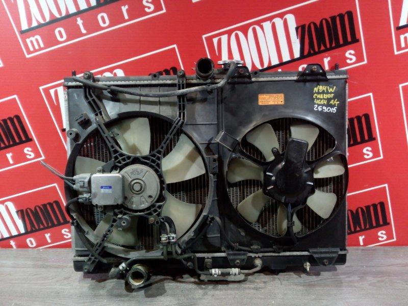 Радиатор двигателя Mitsubishi Chariot Grandis N84W 4G64 1997 передний