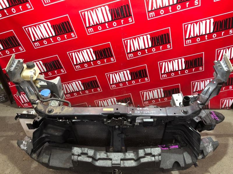 Рамка радиатора Nissan Dualis J10 MR20DE 2007 черный
