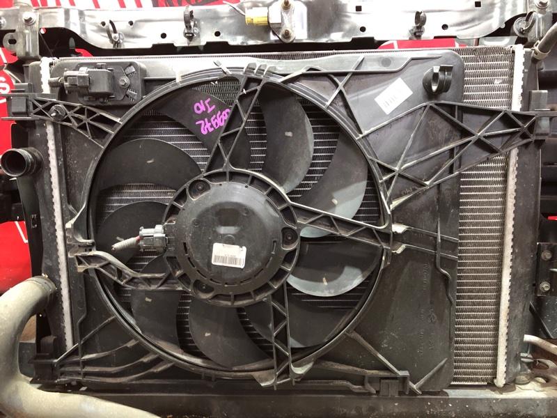 Радиатор двигателя Nissan Qashqai J10 MR20DE 2007