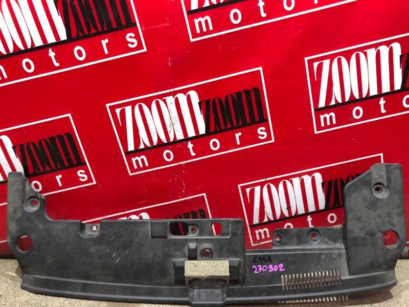 Накладка на решетку радиатора Mitsubishi Lancer X CY4A 4B11 2006 передняя