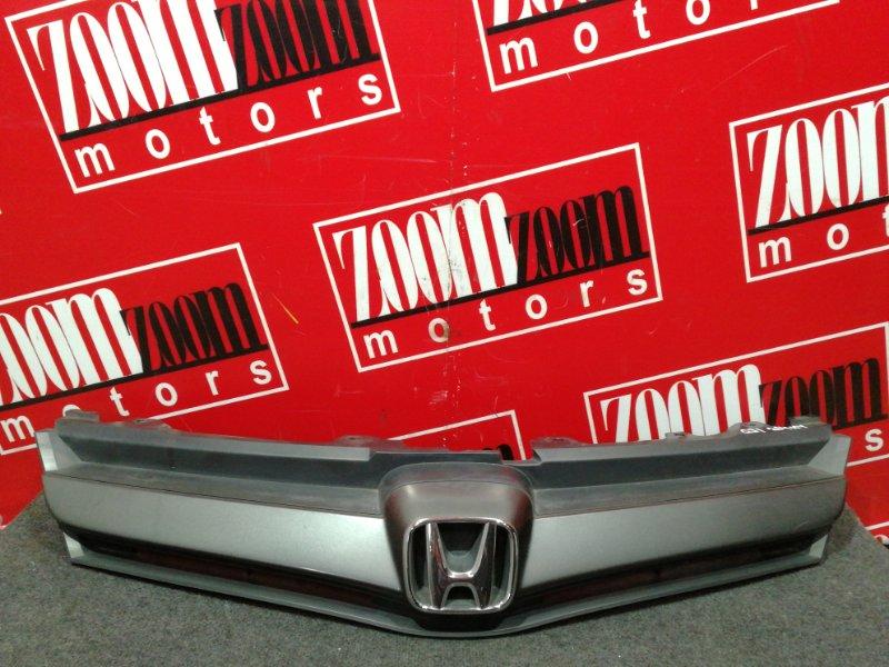 Решетка радиатора Honda Airwave GJ1 L15A 2005 серый