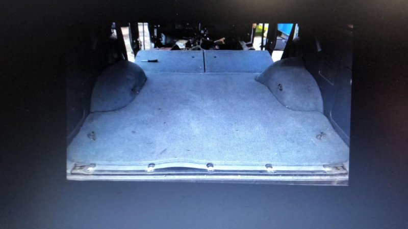 Пол багажника Toyota Hilux Surf RZN185 3ZR-FAE 1995 задний