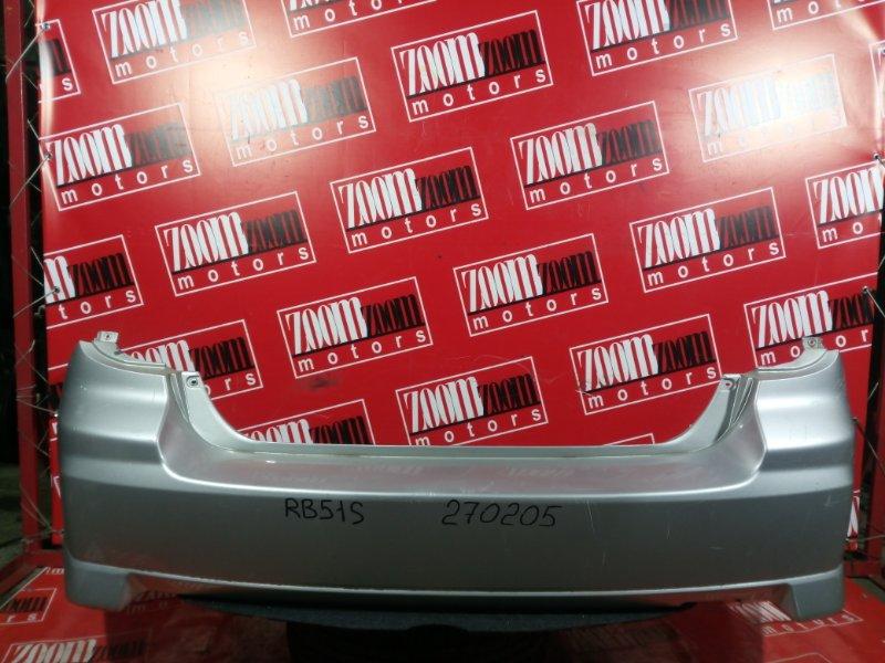 Бампер Suzuki Aerio RD51S M15A 2003 задний серебро