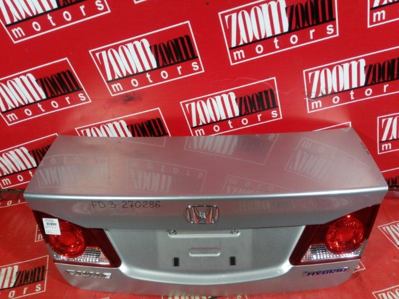 Крышка багажника Honda Civic FD3 LDA 2005 задняя серебро