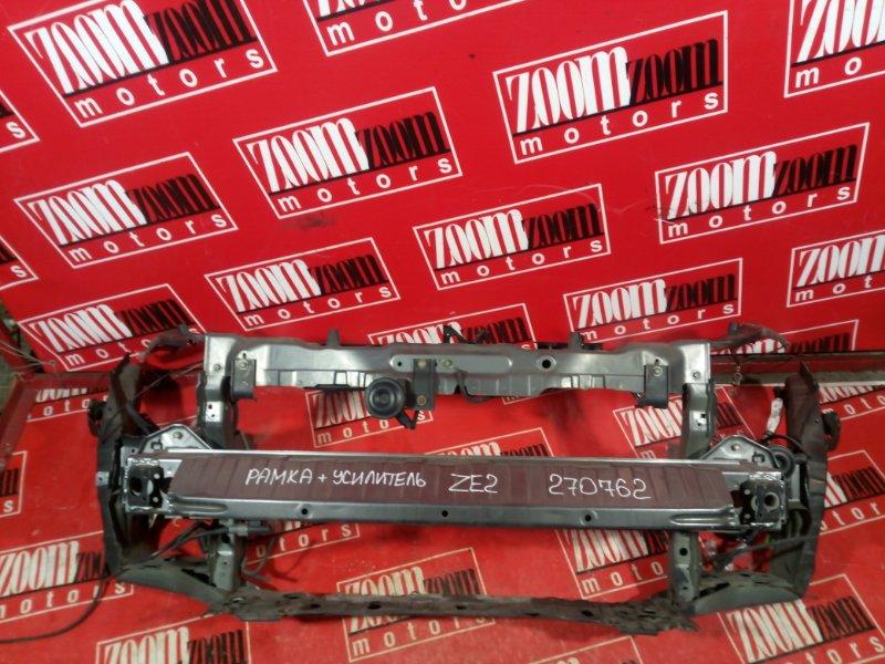 Рамка радиатора Honda Insight ZE2 LDA 2009 передняя серый