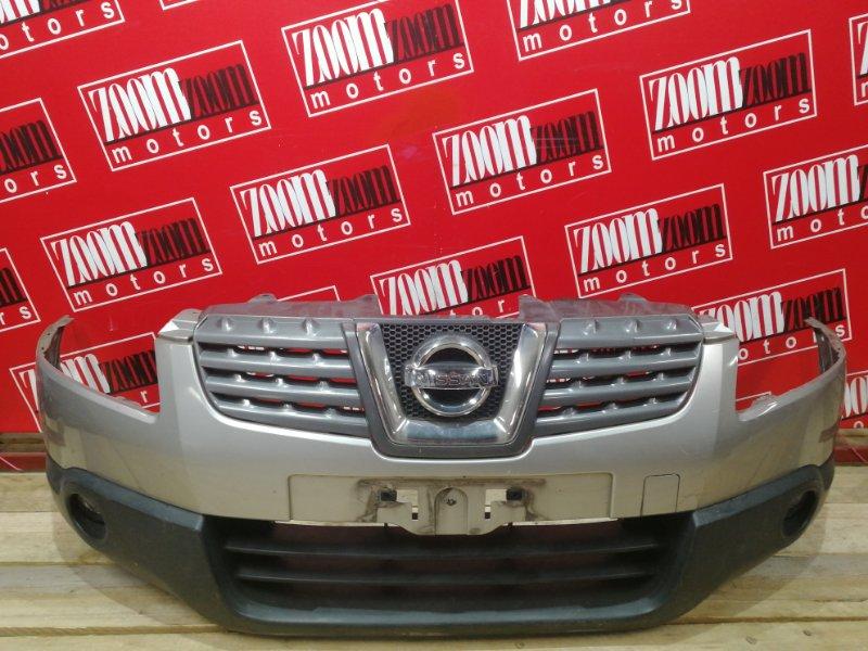 Бампер Nissan Qashqai J10 MR20DE 2007 передний серебро