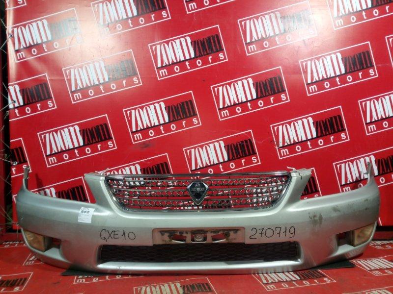 Бампер Toyota Altezza GXE10 1G-FE 1998 передний серебро