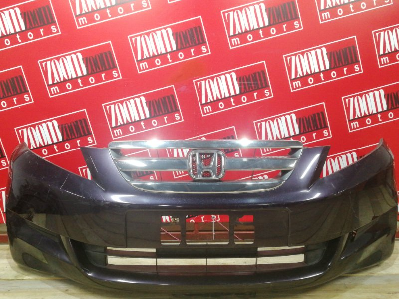 Бампер Honda Edix BE1 D17A 2004 передний баклажан