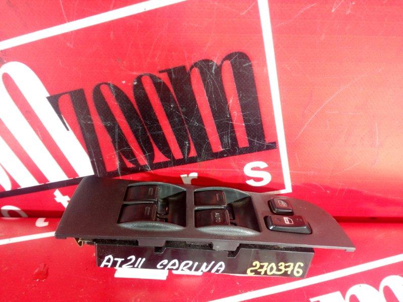 Блок управления стеклоподъемниками Toyota Carina AT210 4A-FE 1996 передний правый