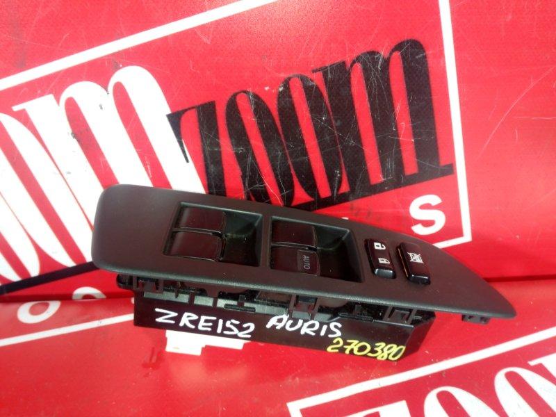 Блок управления стеклоподъемниками Toyota Auris ZRE152 2ZR-FAE 2006 передний правый