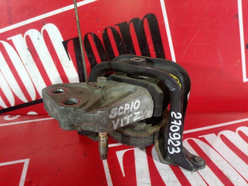 Подушка двигателя Toyota Vitz SCP10 1SZ-FE 2003 передняя правая