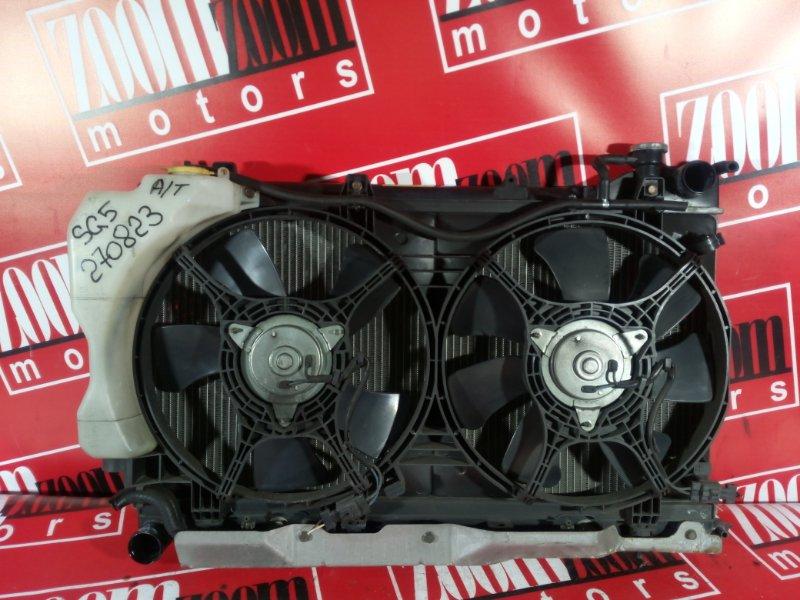 Радиатор двигателя Subaru Forester SG5 EJ20 2005