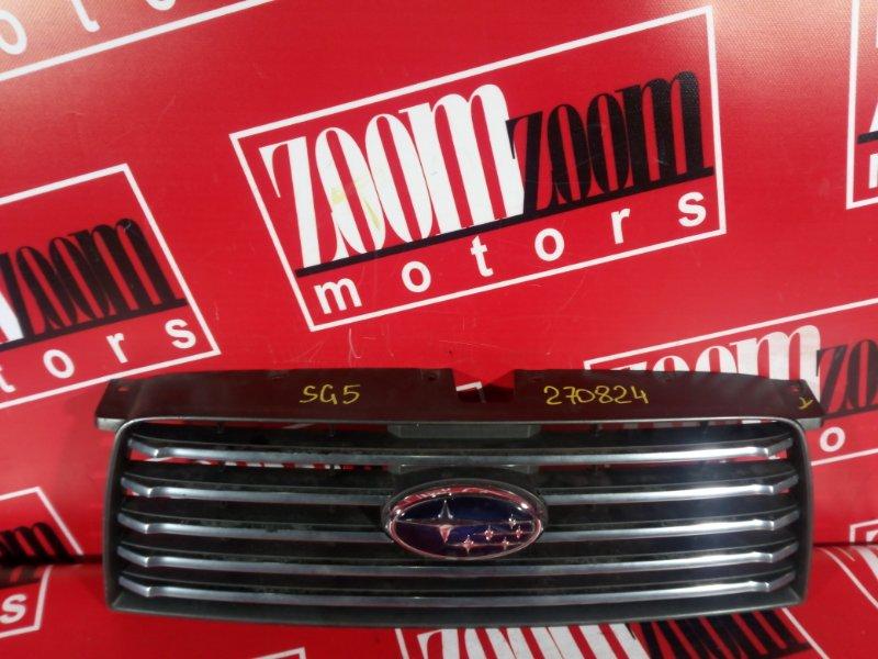 Решетка радиатора Subaru Forester SG5 EJ20 2005 передняя