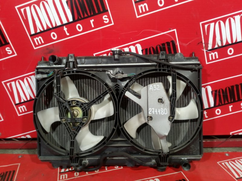 Радиатор двигателя Nissan Cefiro A32 VQ20DE 1994