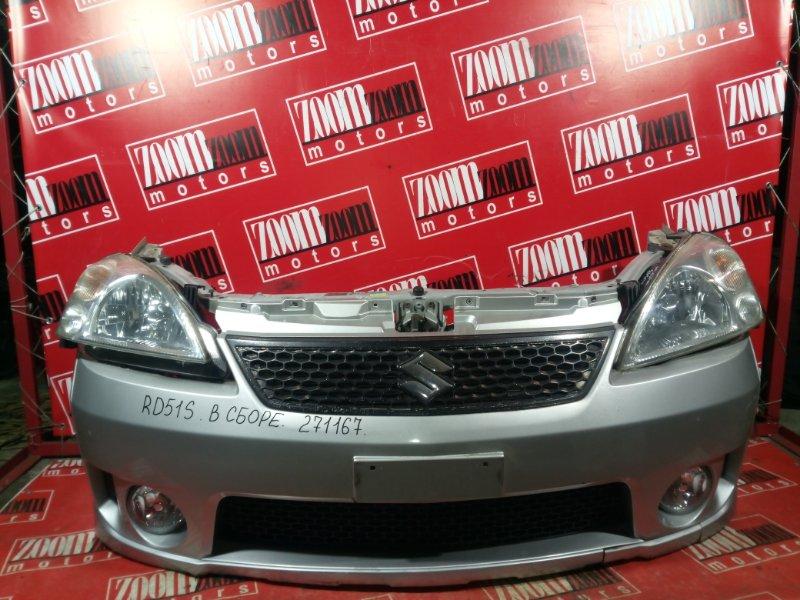 Nose cut Suzuki Aerio RD51S M15A 2003 передний серебро