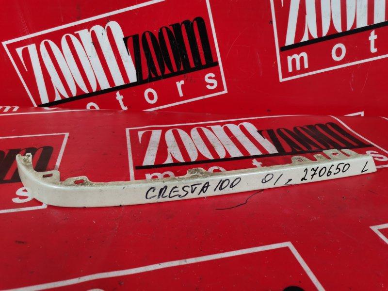 Планка под фонарь Toyota Cresta GX100 1G-FE 1996 задняя левая белый перламутр