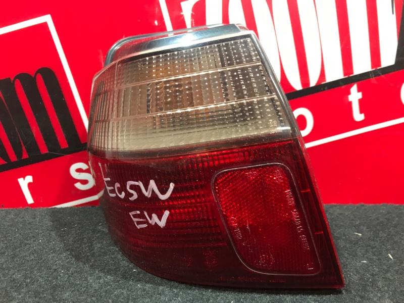 Фонарь (стоп-сигнал) Mitsubishi Legnum EC5W 6A13 1996 задний левый 220-87201
